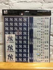 New York Yankees Scrapbook Kit Sticker Set - CLOSEOUT