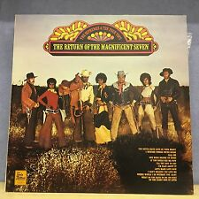 THE SUPREMES &  FOUR TOPS The Return Of The Magnificent Seven 1971 UK Vinyl LP