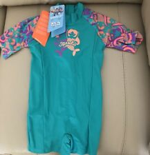 Speedo Sea Squad Sun Suit/Rash Swimsuit Beach Age 2yrs (New)