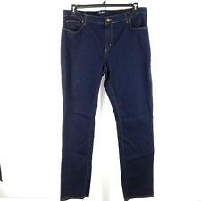 Boden Women Jeans Size 18 Trafalgar Straight Leg Dark Wash