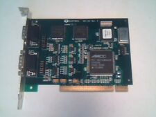 Quatech DSC-100 RevC 930-3008-01C dual serial port PCI card 16550 UART chips DB9
