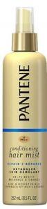 FREE SHIP! NEW Pantene, Conditioning Hair Mist, Repair, Detangler, 8.5  oz