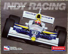 FACT CARD ~ INDY 500 ~  BUDDY LAZIER ~ 2001 INDY RACING LEAGUE SCHEDULE