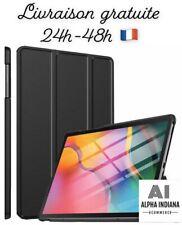 Coque Housse Étui Samsung Galaxy Tab A T515/T510 10.1 Cuir Support Tablette Noir