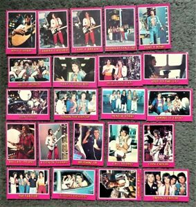 Lot of 20+ Trebor Bay City Rollers Trading Cards 1975 - Mostly Good Condition