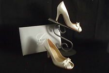 A544 GRACE $130 CANDLE SZ 7 CHELSEA F93901 HIGH HEEL SHOES WEDDING FORMAL
