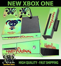 Xbox One Console Sticker Harley Quinn Suicide Squad Logo Skull Skin & Pad Skins