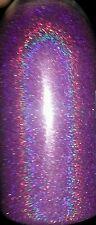 Purple Holographic .004 True Ultra Fine Nail Glitter Art Dust Powder DIY Polish!