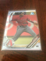 2019 BOWMAN CHROME 1ST CARD RC GERALDO PERDOMO DIAMONDBACKS FIRST - C5547-1