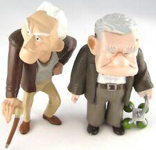 DISNEY Pixar 2 x UP Carl Fredricksen Charles Muntz FIGURES Toys