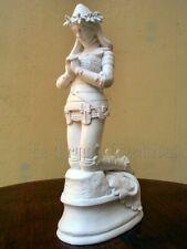 JEANNE D'ARC EN PRIERE en armure par FREMIET