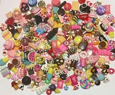 Kawaii Mix Dessert Cabochons Scrapbooking Hair Bow Crafts 40 Pcs