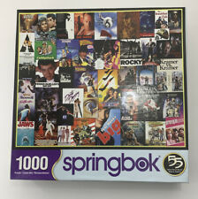 Complete 1000 Piece Springbok Puzzle 80s & 90s Movie Collection Going To Movies