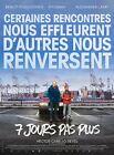 Affiche Pliée120x160cm 7 JOURS PAS PLUS (2017) Benoît Poelvoorde, Pitobash NEUVE