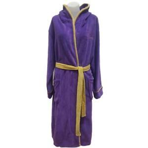Prince Men's Symbol Bath Robe Medium/Large Purple
