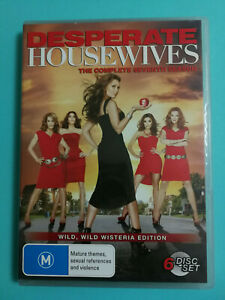 Desperate Housewives Complete Seventh Season 6 set DVD Rated M R4 Good condition