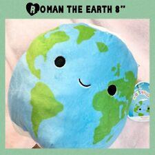 """Roman Squishmallows Earth 8"""" Plush Roman The Earth Squishmallows Space Squad"""