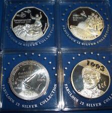 Silber Südafrika Mandela,Korea,Spanien 12€ , Faboulus Münzen? 4 Stück