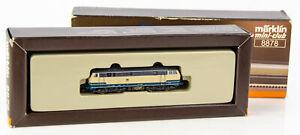 Vintage Marklin Mini-Club 8878 German Z Scale Diesel Locomotive DB 218 438-0