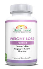 Weight Loss Pills - Green Coffee - Raspberry Ketone - Garcinia - Green Tea