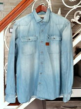 G STAR Construct Denim Herrenhemd Gr . XL