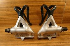 1990 pedals Shimano RX 100 PD-A550 made in Japan, for road bike racing 9/16''