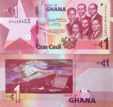 GHANA 2019 ONE CEDI UNCIRCULATED BANKNOTE P-NEW BUY FROM A USA SELLER !!