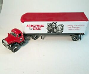 1/34 1960 Mack Truck & Trailer Armstrong Tire in Box First Gear Collectibles