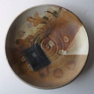 Rare SANDRA JOHNSTONE studio art pottery CHARGER student of VOULKOS/ SOLDNER wow