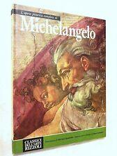 Libro L'opera pittorica completa di Michelangelo Cappella Sistina Vaticano Roma