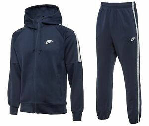 Nike Tribute Mens Tracksuit Set Sports Hoodie Top Hoody Bottoms Track Sweatpants