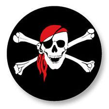 Magnet Aimant Frigo Ø38mm Drapeau Flag Pirate Skull Corsair Corsaire