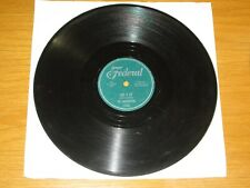 "DOO WOP 78 RPM - THE MIDNIGHTERS - FEDERAL 12230 - ""GIVE IT UP"" + ""THAT WOMAN"""