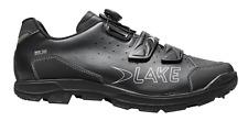 Lake MX168 Enduro 43 / 9 Men's Mtb Shoe Black/Silver  $180 Retail