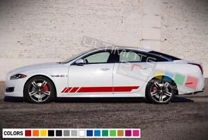 Sticker Stripe kit for Jaguar XJ graphic 2015 2014 2013 2016 lowering racing arm