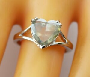 2.18 ct solitaire real diamond wedding engagement ring 18k white gold ring