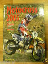 MOTORCROSS 2005 YEARBOOK MOTORGAZET,MX,CARMICHAEL,EVERTS,TOWNLEY,PICHON,BARRAGAN