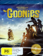 The Goonies - Josh Brolin, Richard Donner, Steven Spielberg- Blu-ray- New Sealed