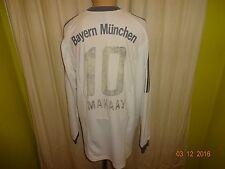 Fc Bayern Munich adidas manga larga Camiseta saliente 2002-2004 + nº 10 makaay talla XXL