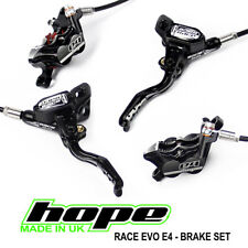 Hope Stealth Race EVO E4 Brakes w/ Ti Hardware - All Options - Brand New