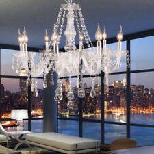 8 Brazos Araña K9 Cristal Lámpara Colgante Moderna Candelabro de Techo Luces E14