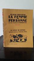 Claude Cámaras - La Mujer De - 1925 - Edición Artheme Fayard