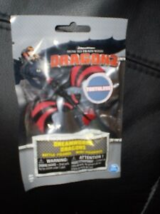 HOW TO TRAIN YOUR DRAGON2 RACING STRIPES TOOTHLESS MINI BATTLE FIGURE 2014