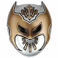 WWE SIN CARA SILVER AND GOLD PLASTIC MASK OFFICIAL NEW