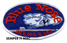 BLUE NOSE PATCH USS US NAVY SUBMARINE PIN UP ARTIC CIRCLE WARM BODY VET GIFT