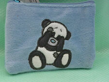 My Blue nose Friends *-* PANDA *-* PORTE MONNAIE rectangle bleu * WALLET *