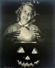 Dynamite Vintage Midcentury Halloween Photograph
