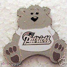 New England Patriots Teddy Bear Pin Very Cute Super Bowl 49 XLIX