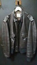 Original Schott Fliegerjacke Leder 674 MS Bomber Flight Leather jacket  Size 50