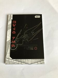 Topps Star Wars The Last Jedi S1 Complete Blueprints 8 Card Chase Set, 2017